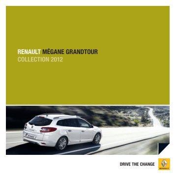 renault mégane grandtour collection 2012 - Renault Preislisten