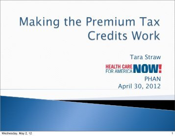 View the notes from this call  - PA Health Access Network