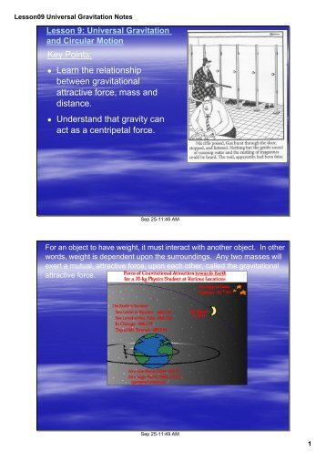 chapter 12 notes universal gravitation. Black Bedroom Furniture Sets. Home Design Ideas