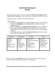 Individuell Slutrapport (IPFR)
