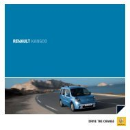 Kangoo(1,3 MB) - Renault Preislisten