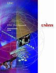 LINC Development Administration Guide - Public Support Login ...