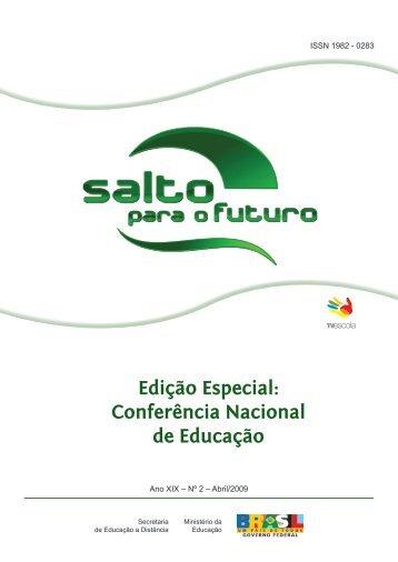 Edição Especial: Conferência Nacional de Educação - Portal do ...
