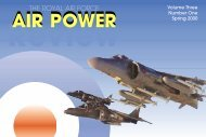 THE RAF AIR POWER REVIEW - Royal Air Force Centre for Air ...