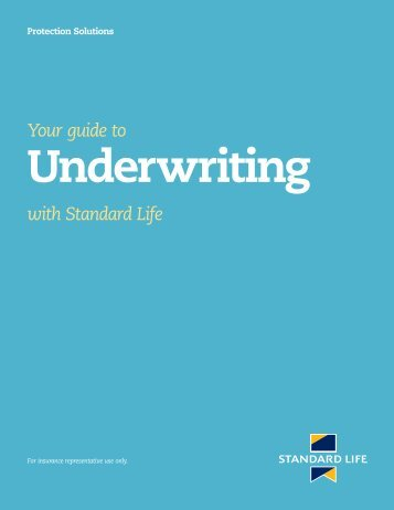 Underwriting (5664) - Standard Life