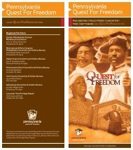 Pennsylvania Quest For Freedom Pennsylvania Quest For Freedom