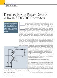 Push-Pull Power Converter Topologies - National Semiconductor