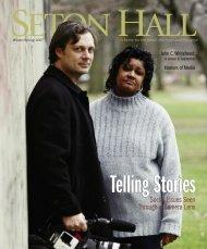 Social Issues Seen Through a Camera Lens - Seton Hall University