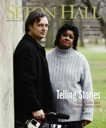 Social Issues Seen Through a Camera Lens - Seton Hall University