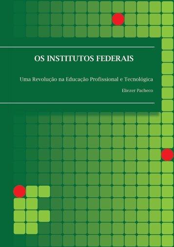 Os Institutos Federais - Portal do Professor - Ministério da Educação