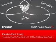 [PDF] Parallels Plesk Family