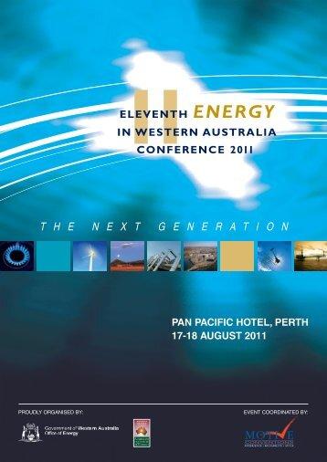 T H E N E X T G E N E R A T I O N - Australian Institute of Energy
