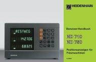 Benutzer-Handbuch ND 710, ND 750 - heidenhain - DR ...