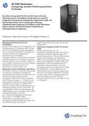 HP Workstation Z200 Serie - aobis