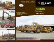 Nashville - Ritchie Bros. Auctioneers