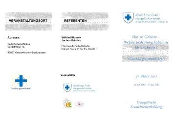 referenten veranstaltungsort - Blaues Kreuz in der Ev. Kirche ...