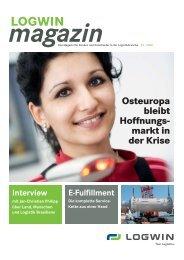 Logwin magazin 0109 komplett:logwin KUNDENZEITSCHRIFT