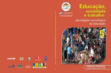 Educação, Sociedade e Trabalho - Portal do Professor - Ministério ...