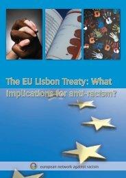 The EU Lisbon Treaty: What implications for anti-racism? - Horus