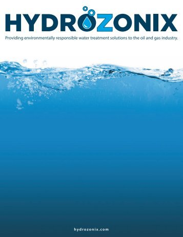 Providing environmentally responsible water treatment solutions to ...