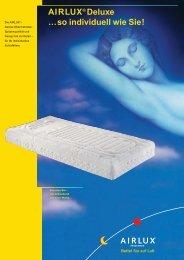 AIRLUX® Deluxe …so individuell wie Sie! - Online Betten