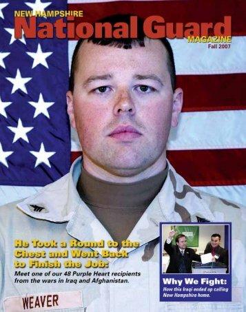 New Hampshire National Guard Magazine : Fall 2007