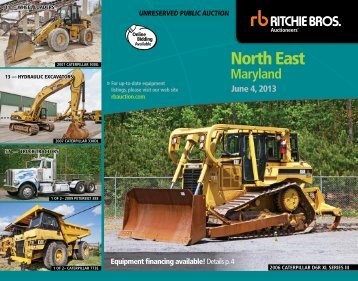 North east - Ritchie Bros. Auctioneers