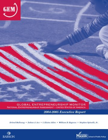 GEM USA 2004-05 Report - Global Entrepreneurship Monitor