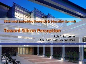 Toward Silicon Perception - Intel