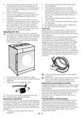 Washing Machine Lavatrice Skalbimo mašina Máquina ... - Blomberg - Page 4