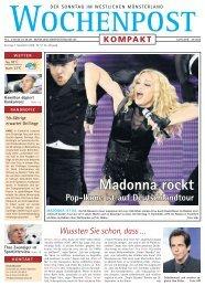 Madonna rockt