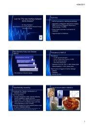 Liver fat - Human Nutrition - University of Otago
