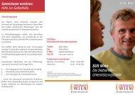 SUS Wien Die Selbsthilfe - Unterstützungsstelle - Fonds Soziales ...