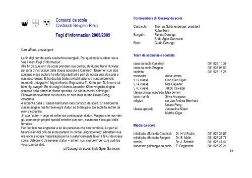 Informationen 08-09 aufbereitet - Castrisch