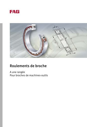 Roulements de broche - Rollin.ch