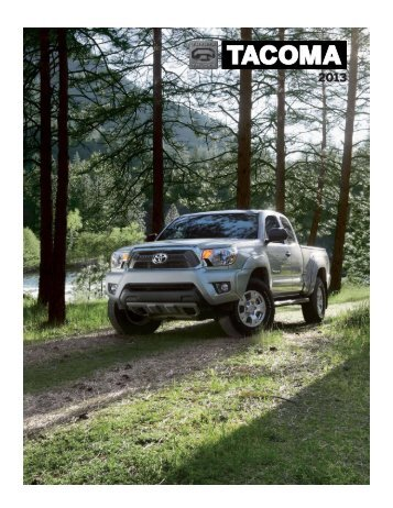 Toyota 2013 Tacoma Brochure