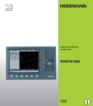 6 Programowanie POSITIP 880 - heidenhain - DR. JOHANNES ...