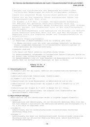 GefStoffV Anhang III Nr. 6