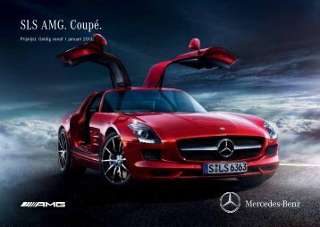 SLS AMG. Coupé. - Mercedes-Benz