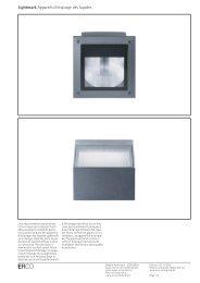 Lightmark Appareils d'éclairage des façades - Erco