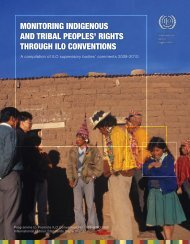 monitoring indigenous and tribal peoples' rights through ilo ...