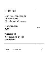 Beschrijven van workflows - OCLC