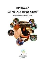 De nieuwe script editor in WinIBW3.4 - OCLC