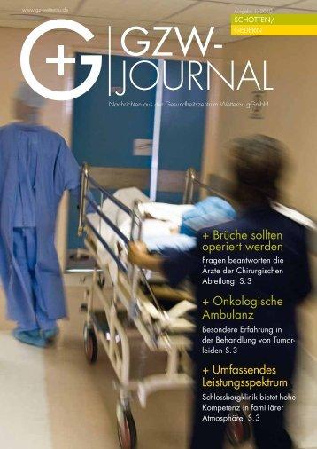 Ausgabe Schotten/Gedern - Gesundheitszentrums Wetterau