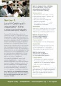 Diploma in Adjudication in the ConstruCtion inDustry - RICS - Page 3