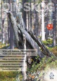 SCA och Naturskyddsföreningen möts på omstridd mark