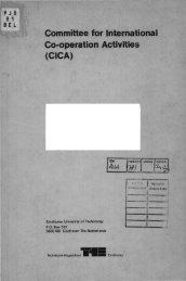 (CICA) - Technische Universiteit Eindhoven