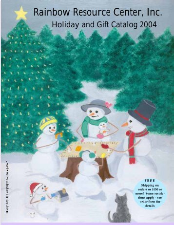 Holiday and Gift Catalog - Rainbow Resource Center, Inc.