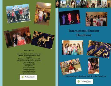 International Student Handbook - Office of International Affairs ...