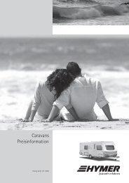 Caravans Preisinformation - HYMER.com